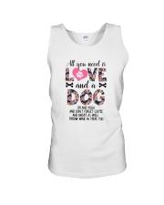 Dog - All Love Unisex Tank thumbnail