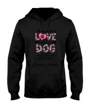 Dog - All Love Hooded Sweatshirt thumbnail