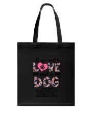 Dog - All Love Tote Bag thumbnail
