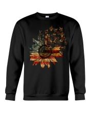 Bee USA Flower T5tf  Crewneck Sweatshirt thumbnail