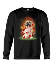 Shih Tzu Heart Crewneck Sweatshirt thumbnail