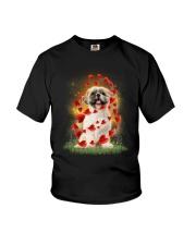 Shih Tzu Heart Youth T-Shirt thumbnail
