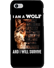 Wolf I Will Survive Phone Case thumbnail