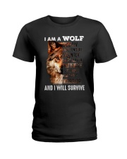 Wolf I Will Survive Ladies T-Shirt thumbnail