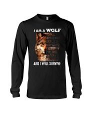 Wolf I Will Survive Long Sleeve Tee thumbnail