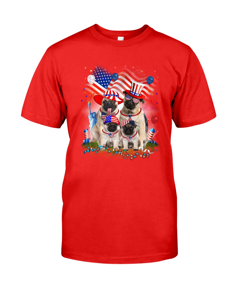 Pug USA Classic T-Shirt