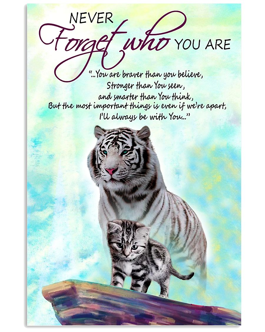 Cat Who You Are 11x17 Poster