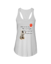 Great Pyrenees Stay Here Forever Ladies Flowy Tank thumbnail