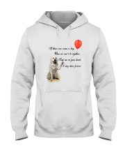 Great Pyrenees Stay Here Forever Hooded Sweatshirt thumbnail
