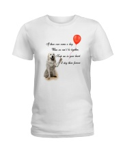 Great Pyrenees Stay Here Forever Ladies T-Shirt thumbnail