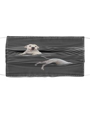 Dogo Argentino Striped T821  Cloth face mask front