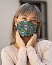 Beautiful Koi Fish H21841 Cloth face mask aos-face-mask-lifestyle-17