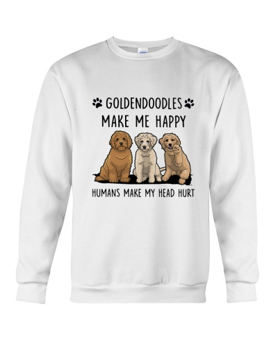 Goldendoodle - Head hurt