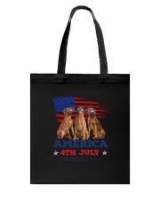 Rhodesian Ridgeback America Tote Bag thumbnail