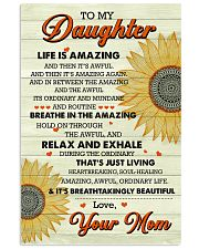 Family - Daughter Life Is Amazing 11x17 Poster front