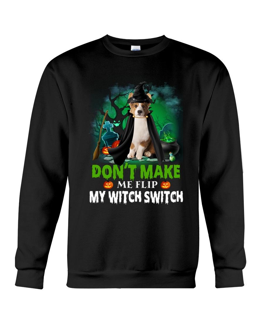 Cardigan Welsh Corgi Witch Crewneck Sweatshirt