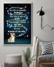 Pembroke Welsh Corgi Always At My Side 11x17 Poster lifestyle-poster-1