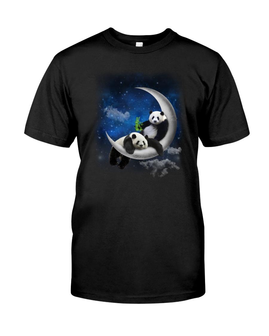 Panda Moon Classic T-Shirt