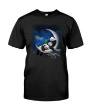 Panda Moon Classic T-Shirt front