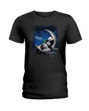 Panda Moon Ladies T-Shirt thumbnail