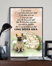 French bulldog Love never dies 11x17 Poster lifestyle-poster-2