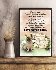 French bulldog Love never dies 11x17 Poster lifestyle-poster-3