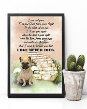 French bulldog Love never dies 11x17 Poster lifestyle-poster-8