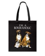 BOXERAHOLIC Tote Bag thumbnail