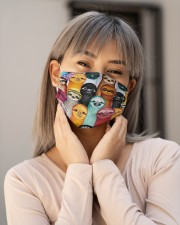 Colorful Sloth G82814 Cloth Face Mask - 3 Pack aos-face-mask-lifestyle-17