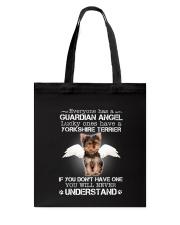 Dog Yorkshire Terrier camp mau Tote Bag thumbnail