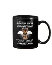 Dog Yorkshire Terrier camp mau Mug thumbnail