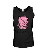 Farm Pig Oink  Unisex Tank thumbnail