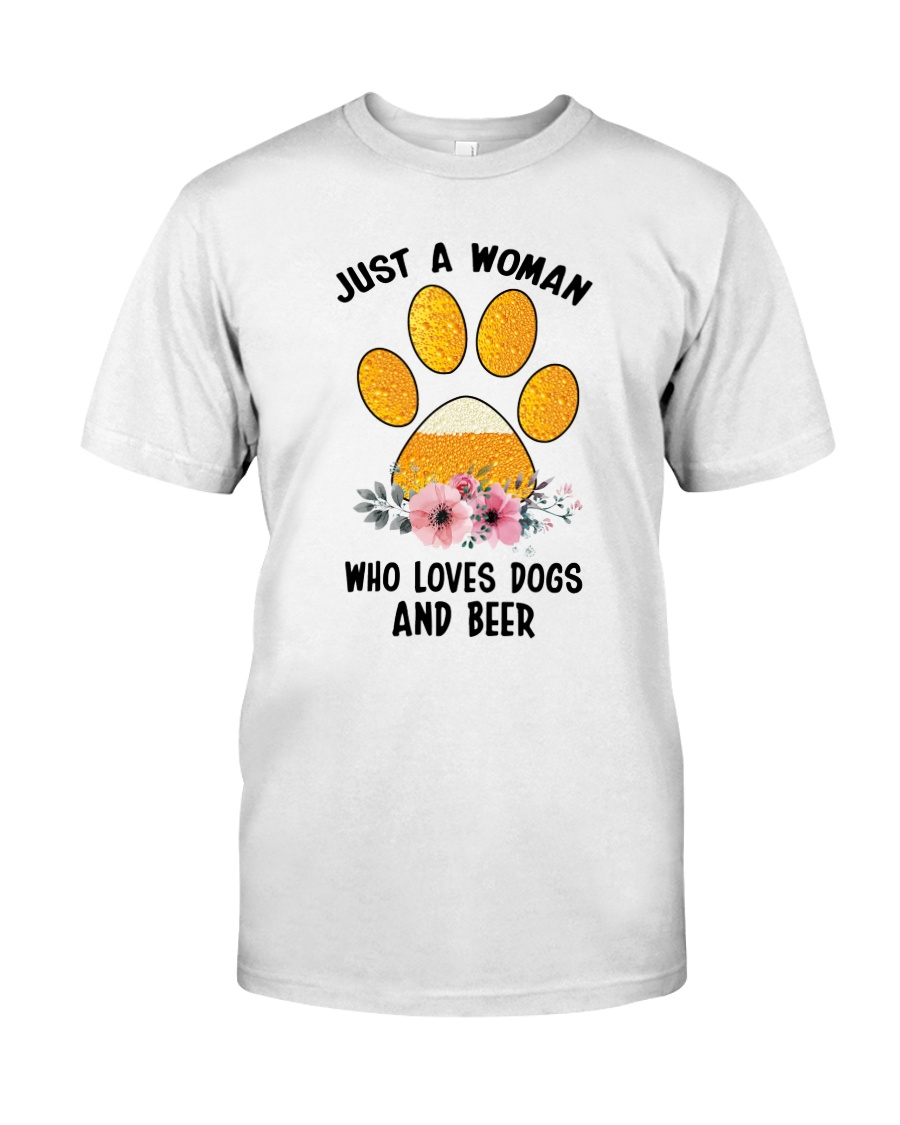Dogs And Beer Classic T-Shirt
