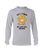 Dogs And Beer Long Sleeve Tee thumbnail