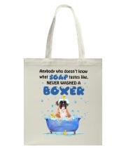 Boxer and Soap Tote Bag thumbnail