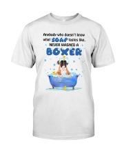 Boxer and Soap Classic T-Shirt thumbnail