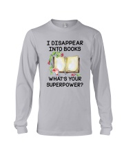 Book Disppear Into Book Long Sleeve Tee thumbnail
