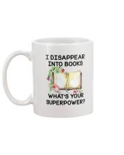 Book Disppear Into Book Mug back