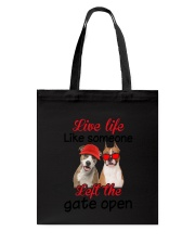 American Staffordshire Terrier Gate Tote Bag thumbnail