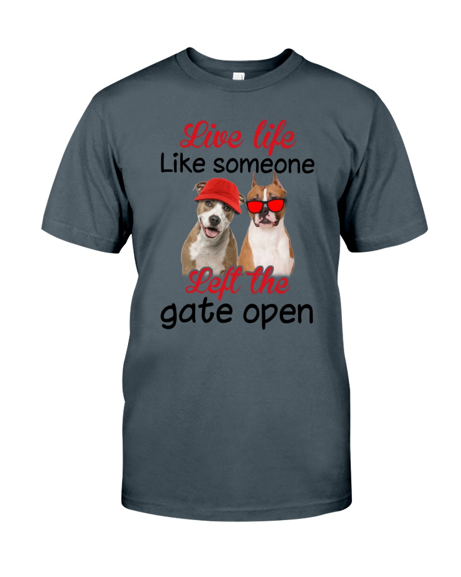 American Staffordshire Terrier Gate Classic T-Shirt