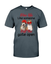 American Staffordshire Terrier Gate Classic T-Shirt front