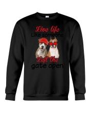 American Staffordshire Terrier Gate Crewneck Sweatshirt thumbnail