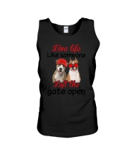American Staffordshire Terrier Gate Unisex Tank thumbnail
