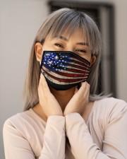 Baseball USA Flag T826 Cloth face mask aos-face-mask-lifestyle-17
