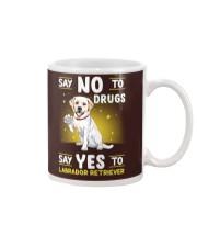 Dog Labrador Retriever Say No To Drugs Mug thumbnail