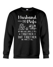 Camping - Wife and Husband  Crewneck Sweatshirt thumbnail