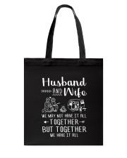 Camping - Wife and Husband  Tote Bag thumbnail