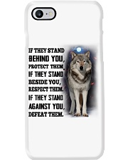 Wolf Behind You Phone Case thumbnail