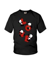 Love Panda Youth T-Shirt thumbnail