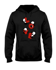 Love Panda Hooded Sweatshirt thumbnail